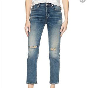 ⚫️ NWT Calvin Klein Jeans W26 High Rise Straight